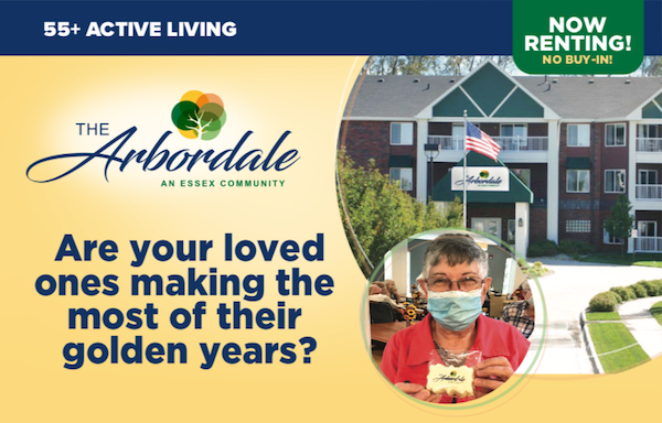 The Arbordale. Are your loved ones making the most of their golden years?