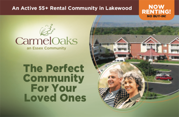 Carmel Oaks, an active 55 plus rental community in Lakewood. The perfect community for your loved ones.