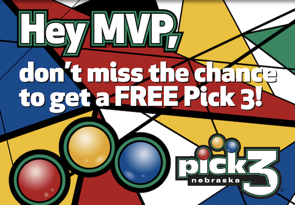Hey MVP, don't miss the chance to get a FREE Pick 3!