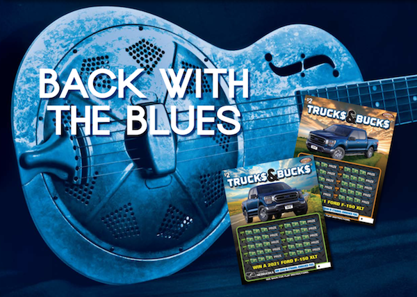 Back with the blues - Trucks and bucks.